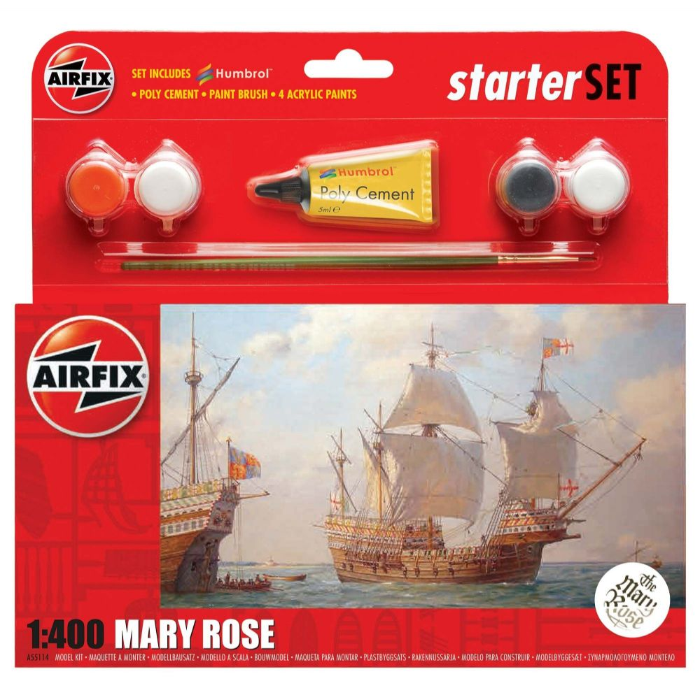 Airfix  A55114 Starter Set Mary Rose 1:400